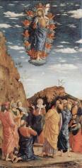 ascension - andrea mantegna 1462