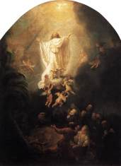 Ascension - Rembrandt, 1636