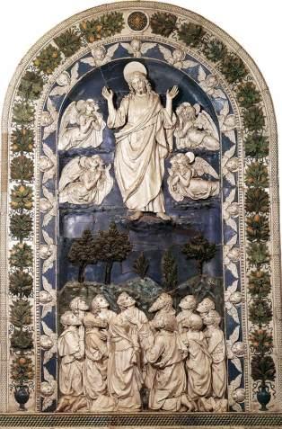 Ascension - ROBBIA, Andrea della, 1490