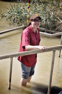 Avril in the Jordan