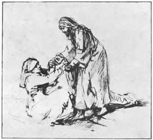 Rembrandt 1660 Healing of Mother-in-Law