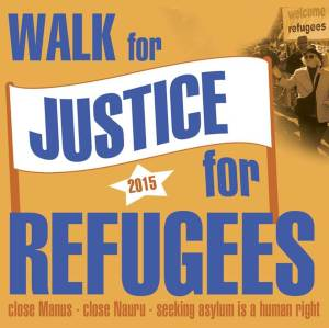 Walk for Justice for Refugees