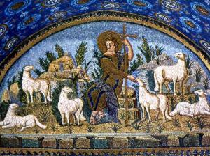 Fifth century mosaic, Ravenna