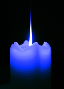 Blue Candle (2)