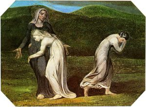 William Blake (1795) Naomi entreating Ruth and Orpah