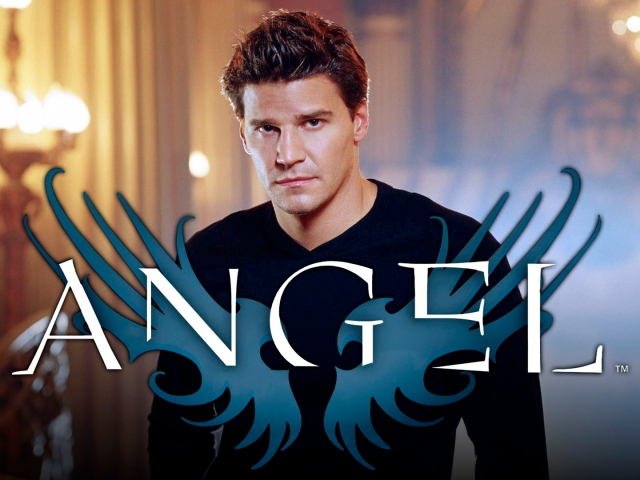 """ANGEL""Pictured: David Boreanaz as Angel  Credit: The WB/Frank Ockenfels"