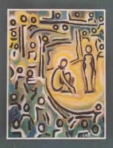 La femme adultere by Corinne Vonaesch