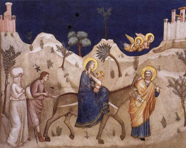 Flight into Egypt (2)