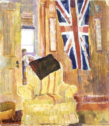 art90721_flag-in-room_g-c-smith