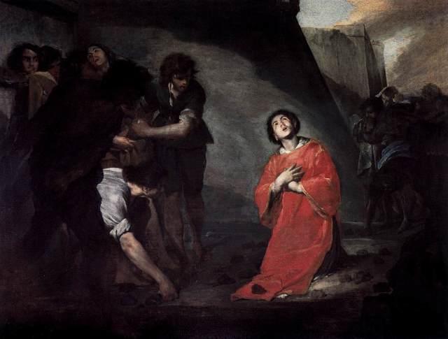 Bernardo CAVALLINO The Martyrdom of Stephen