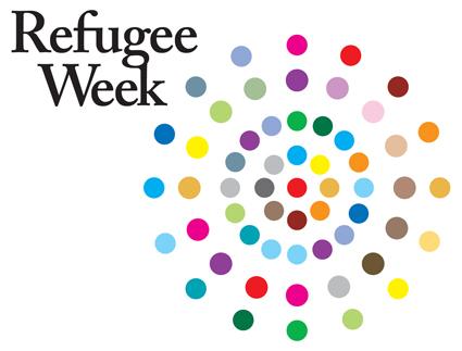 Refugee Week logo colour