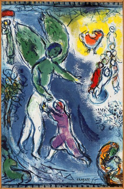 Marc-Chagall-Jacob-Wrestling-with-the-Angel-4-