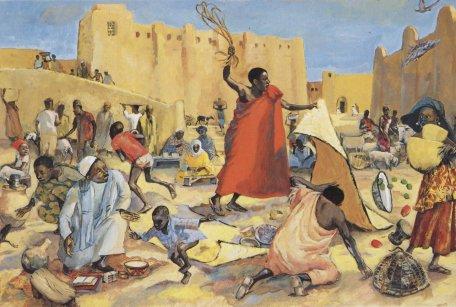 Jesus drives out the merchants - John 2:13-16